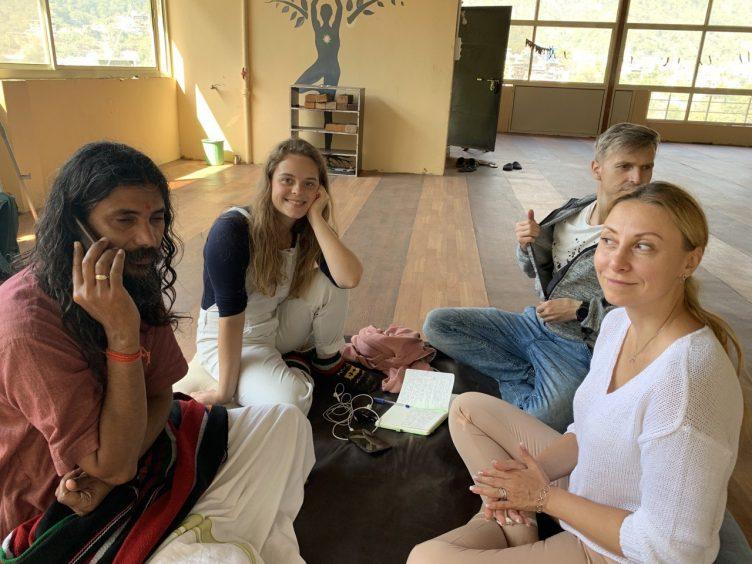 встречи с духовными искателями в Индии